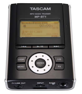 Tascam MP-BT1<br>MP3 репетитор для бас-гитаристов