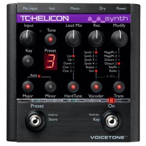 TC-HELICON VOICETONE SYNTH<br>Педаль эффектов для вокала