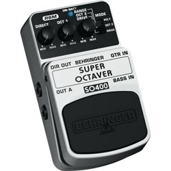 BEHRINGER SO400 SUPER OCTAVER<br>Педаль эффектов октавер